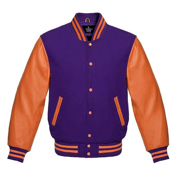Amazon.com: Baseball Letterman Varsity Chaqueta estética de ...
