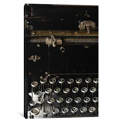 """iCanvasART 1 pieza Vintage lienzo de máquina de escribir por Simposio diseño, 40"""" x"""