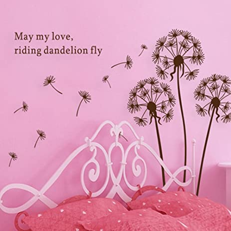Dandelions in the wind Set with may my love riding Dandelion fly ...