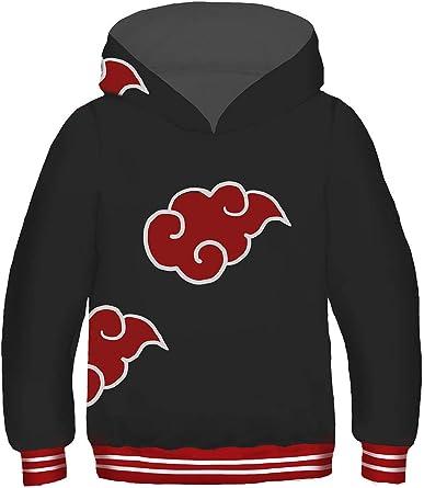 Kids Novelty Hoodie Pullover Sweatshirts for Boys Girls Cartoon Cosplay Costume