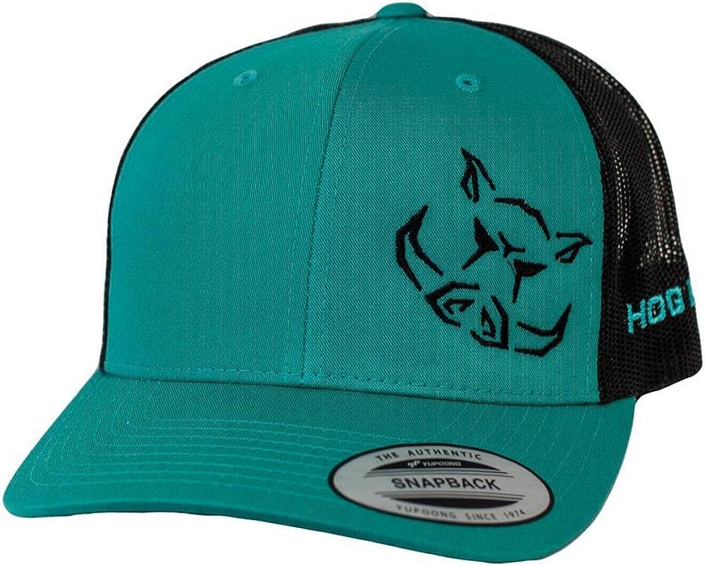 Hog Life Mesh Back Hat with Adjustable Snapback