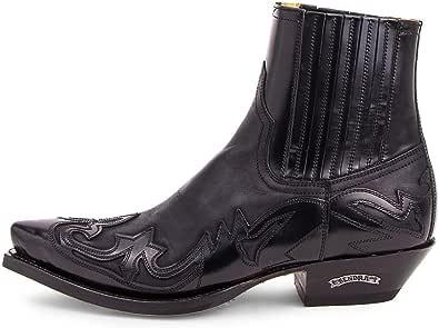 Sendra Boots - 4660 Cuervo Flora Negro-Sprinter Negro