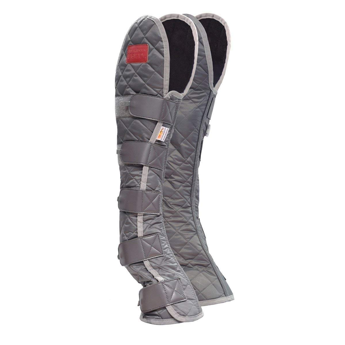 Grey Large Grey Large Equilibrium Magentic Hind and Hock Therapy Horse Boot Large Grey