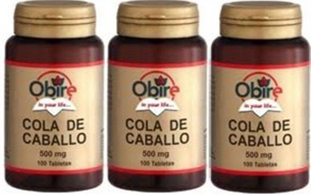 Cola de caballo 375 mg. 100 tabletas: Amazon.es: Salud y cuidado personal