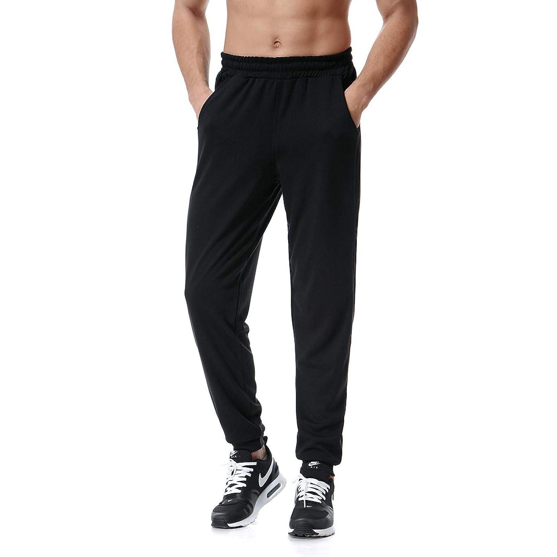 Elonglin Mens Jogging Training Trousers Track Pants Athletic Elastic Waist EL.CK0204