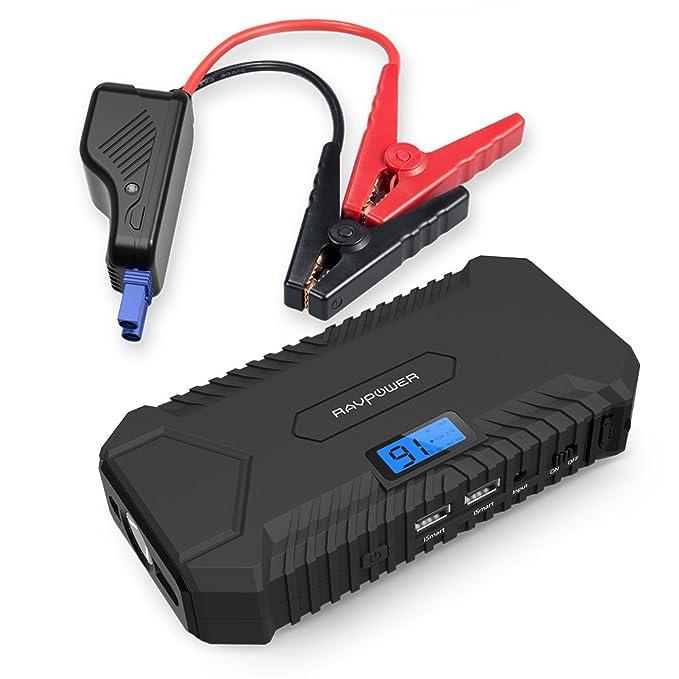 150 opinioni per RAVPower Avviatore di Emergenza 550A per Auto Jump Starter Caricabatterie (