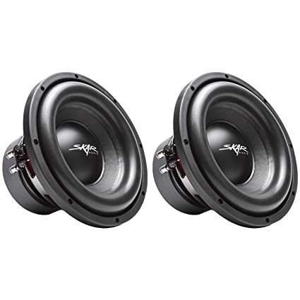 """NEW 2 10/"""" Subwoofer Speakers.Car Audio Sound.woofers.300w.4ohm.BASS Pair.10in"""