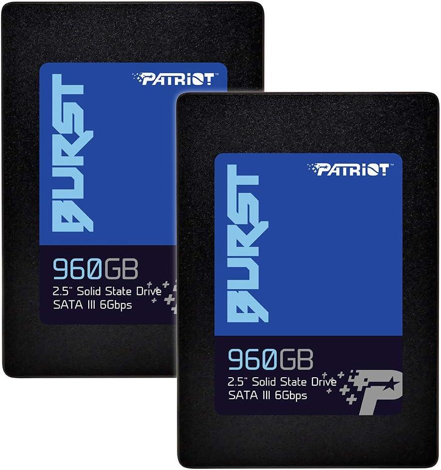 Patriot Burst Pbu960gs25ssd2 Interne Ssd Festplatte Computer Zubehör