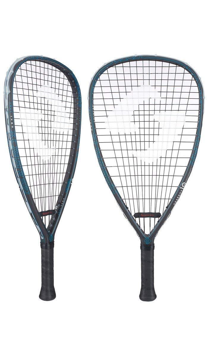 Gearbox GBX1 ''10th Anniversary Edition'' Racquetball Racquet (170g)(Tear)(Blue)(3 15/16'' Grip)