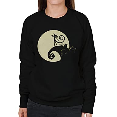 Aliens Nightmare Before Christmas Mashup Women's Sweatshirt ...