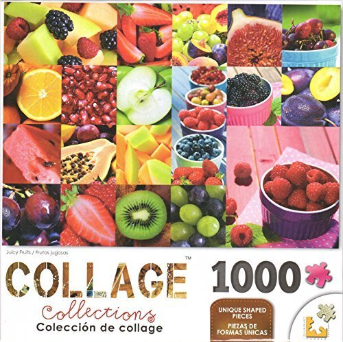 (LPF Collage Juicy Fruits 1000 Piece Puzzle)