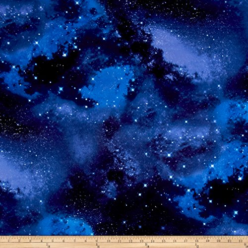 - Timeless Treasures Flannel Fabric by the Yard, Galaxy