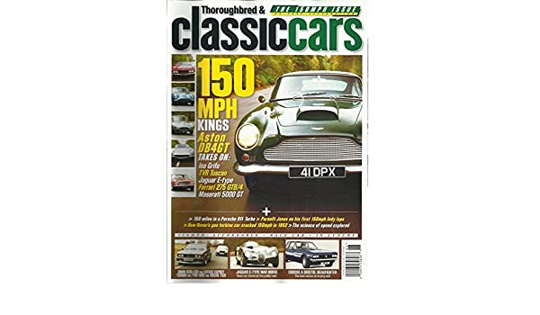 Amazon.com: THOROUGHBRED & CLASSIC CAR, JUNE, 2012 (HOW ROVERS GAS TURBINE CAR CRACKED: Everything Else
