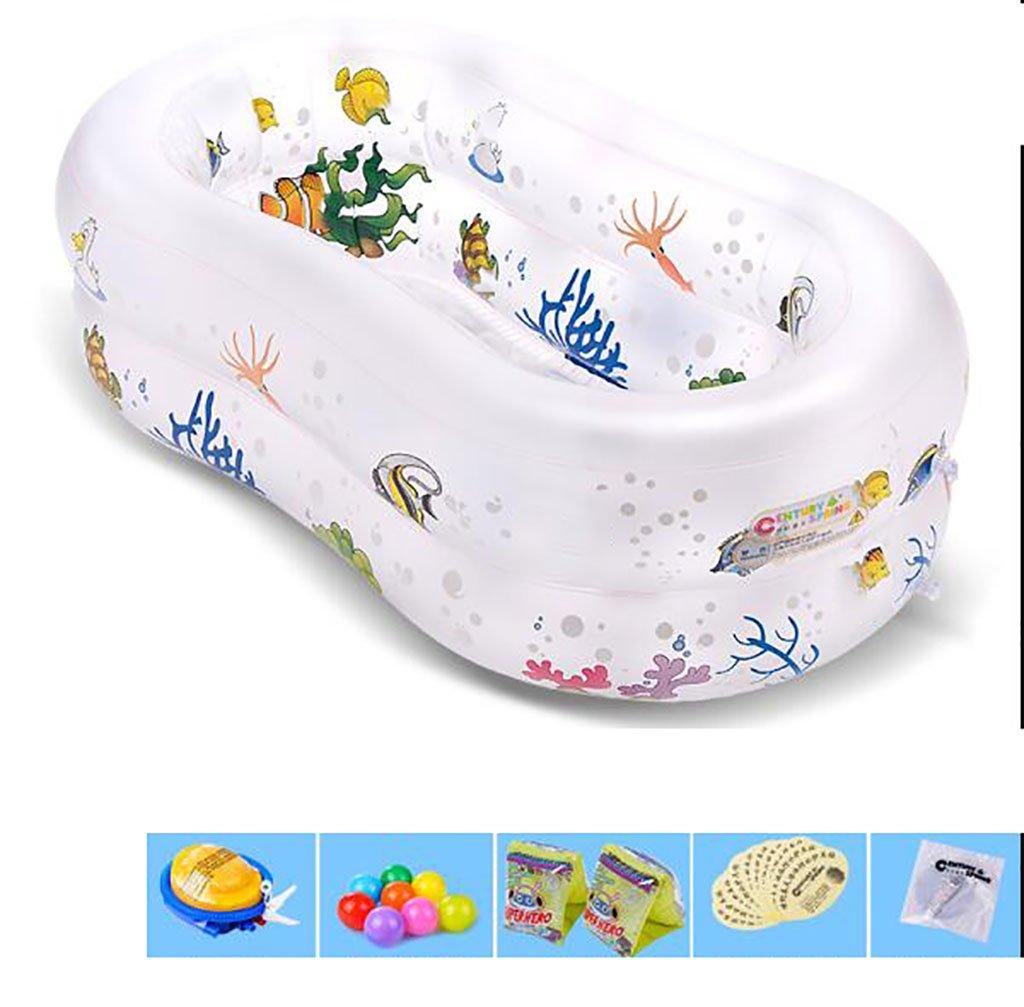 FHK,Klappbare Badewanne Bad / aufblasbare Badewanne / aufblasbare Schwimmbad / Haus Isolierung Säugling Pool / aufblasbare Schwimmbad für Kinder Aufblasbare Badewanne, Badfaß ( farbe : 2# )