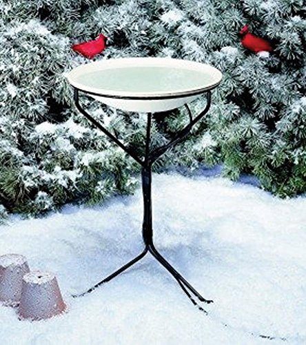 HEATED BIRD BATH WITH STAND - 20 INCH/150WATT by DavesPestDefense