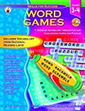 img - for Word Games Grades 3-4 book / textbook / text book