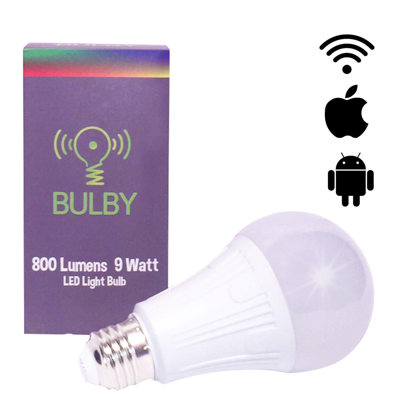 Bulby LED Multicolor 9W 800 Lumen Group Alexa Google Home Smart Light Bulb by Bulby