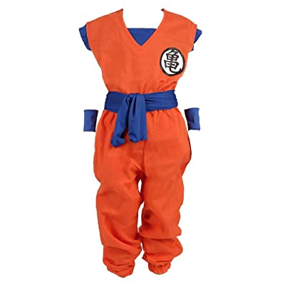Dragon Ball Children Costume, Son Gokus Training Suit at Master Roshis: Clothing