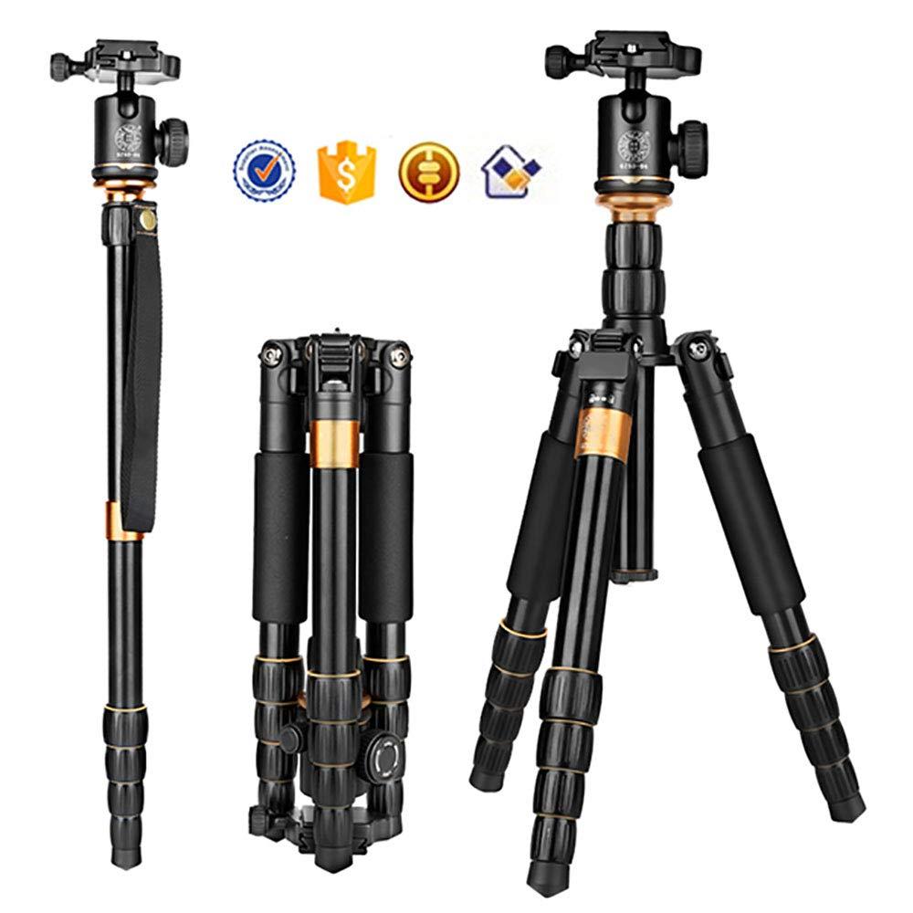 LWL アルミ三脚 クイックリリース ボード プロフェッショナル カメラスタンド 一眼レフカメラ 手持ちカメラ デジタルカメラなどあらゆる種類のカメラに対応   B07MW61X6S