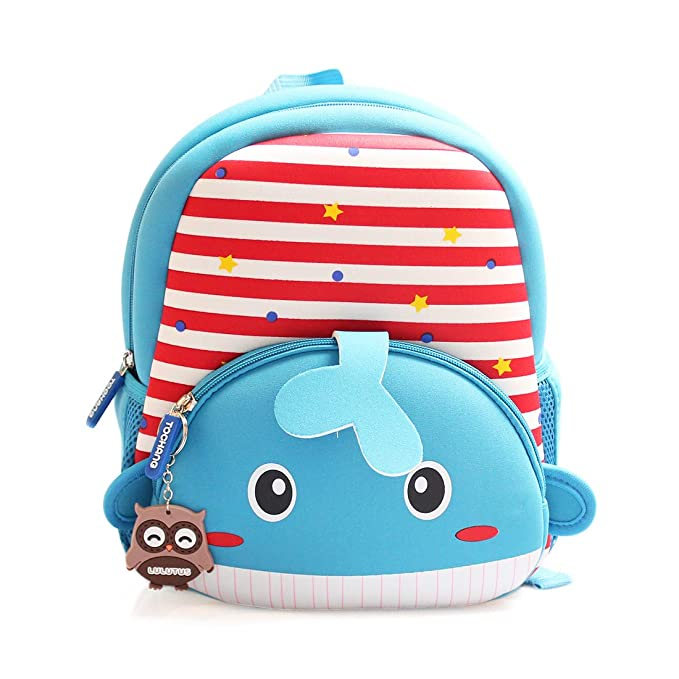 d533875557b2 3D Toddler Backpacks for Boys Girls Cute Animals SchoolBags Waterproof  Preschool Bookbag Little Kids Backpacks 2-5 Years