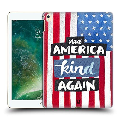 Price comparison product image Head Case Designs Kind Again Contemporary America Hard Back Case for Apple iPad Pro 12.9 (2016 / 17)