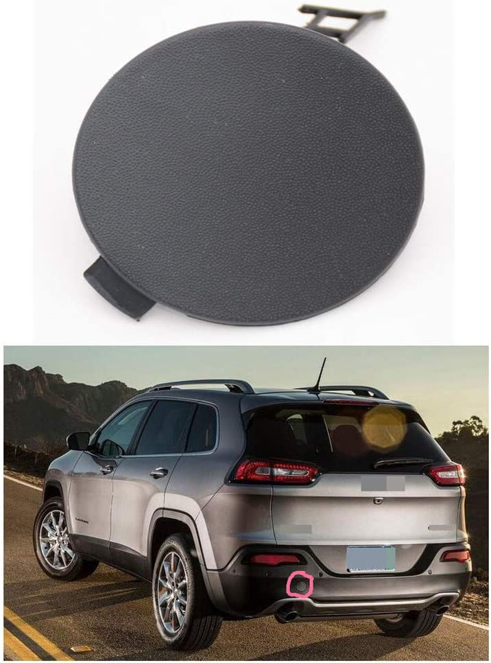 SPEEDLONG 1Pcs Front Bumper Tow Towing Hook Eye Cover Plug Trim Cap Fit for Mazda CX-5 2017-2019