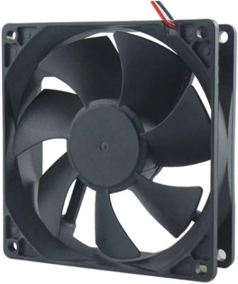 Copapa DC cooling fan Brushless fan computer fan case fan 12025 120mmx120mm x25mm (DC24V)