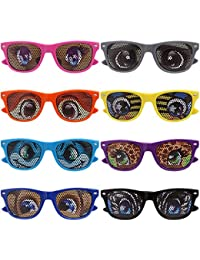 8 pc Mixed Color Cartoon Eye Decal Childrens Party...