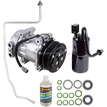 AC Compressor w/A/C Repair Kit For Jeep Cherokee 1997 1998 1999 2000 - BuyAutoParts 60-80176RK New