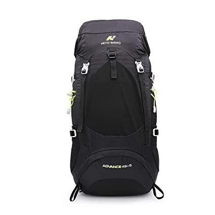 93b55d6ec8 NEVO RHINO Internal Frame Backpack 45L 50L Durable Waterproof Nylon Climbing  Sports Ultralight Daypack with