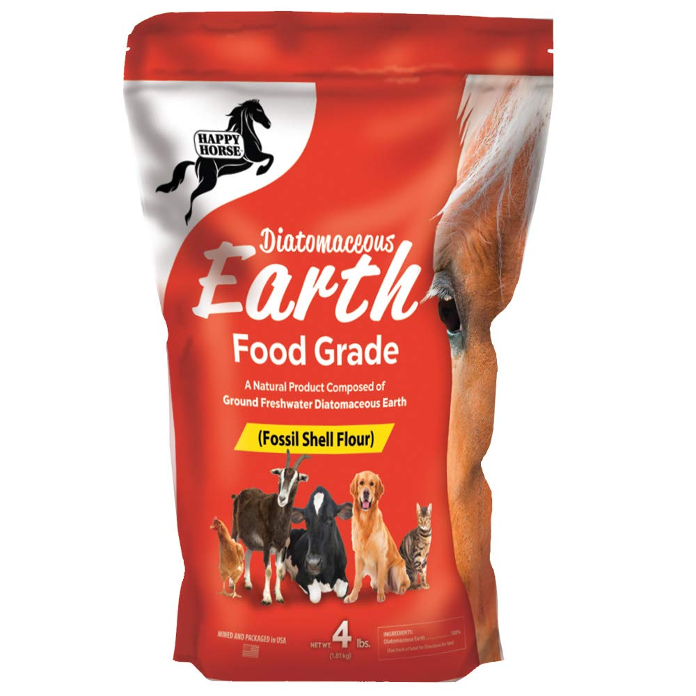 Happy Horse Food Grade Diatomaceous Earth, 4lb