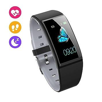 LBWNB Fitness Tracker - Monitor de Ritmo cardíaco Tracker Pulsera ...