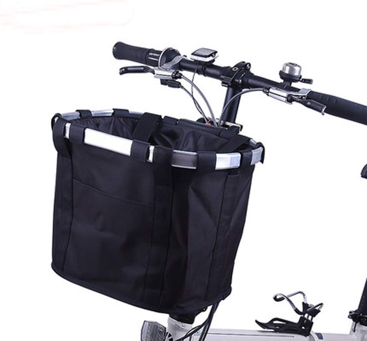 Bicycle Front Basket Removable Waterproof Bike Handlebar Basket Pet Carrier USA