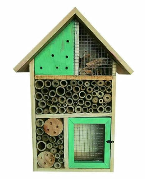 Heritage, caja de madera para insectos, casa nido para abejas y mariquitas, ideal