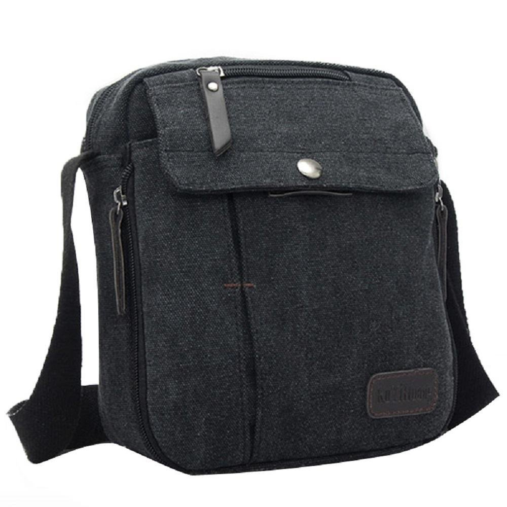 Diaper Travel Bags for Men Canvas Messenger Bag Shoulder Bags for Men Messenger Bags