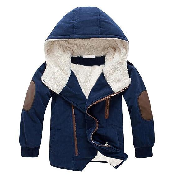 Amazon.com: Gaorui Niños Invierno Con Capucha Down Coat ...