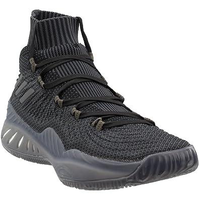 adidas Crazy Explosive 2017 Primeknit Shoe Men s Basketball 10 Core Black-Utility  Black 62ed808eccbc