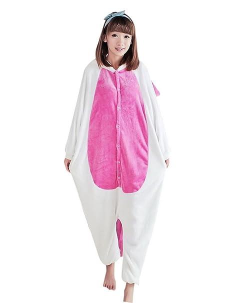 Avitalk - Pijama Disfraz de Animal Pelele Traje de Baño Bañador de una pieza para Mujeres hombres - Unicornio - S: Amazon.es: Ropa y accesorios