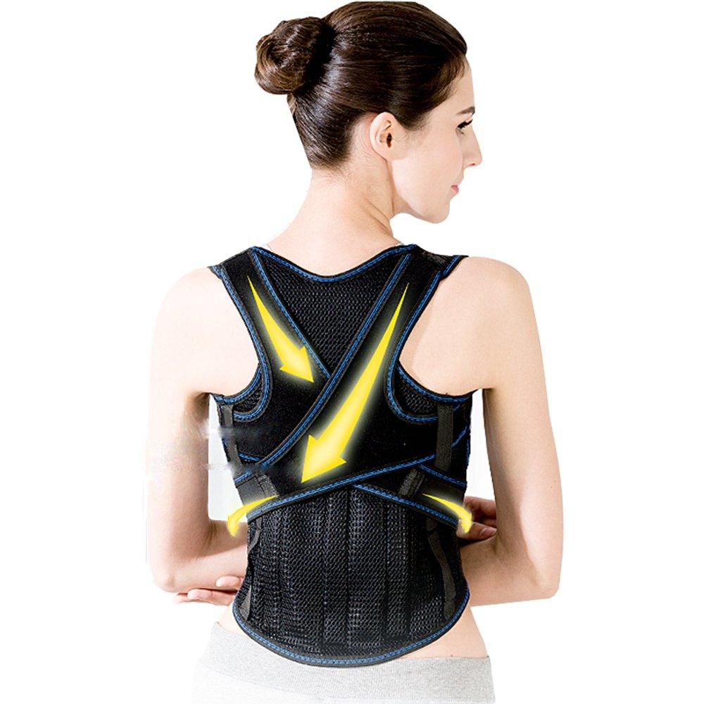 HAIDE Women Back Posture Corrector Brace for Lower, Upper Back Pain (XL: 43-47 inch Waistline)