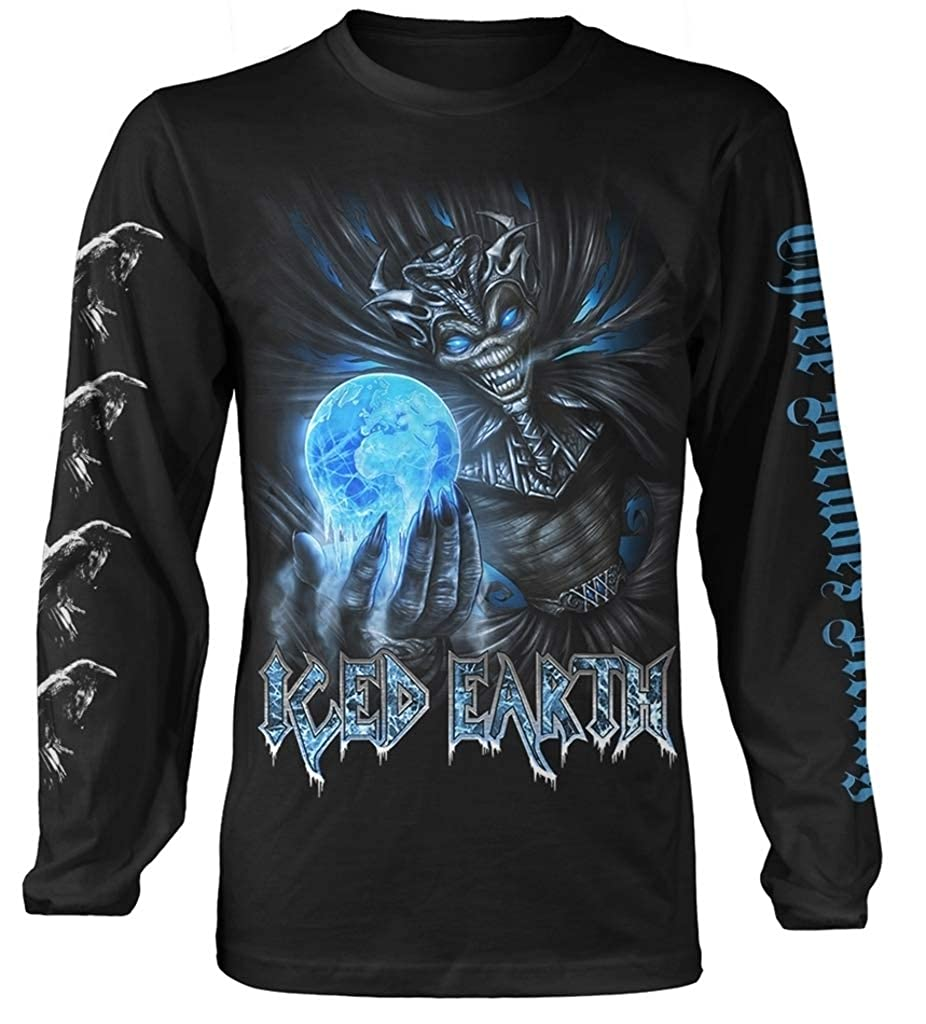Amazon.com  Iced Earth  30th Anniversary  Long Sleeve Shirt (Large) Black   Clothing 43032655a3