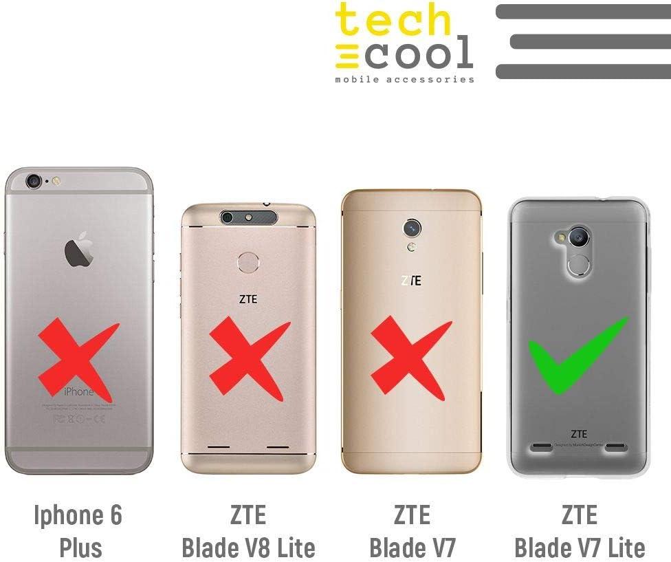 Funnytech® Funda Silicona para ZTE Blade V7 Lite [Gel Silicona ...