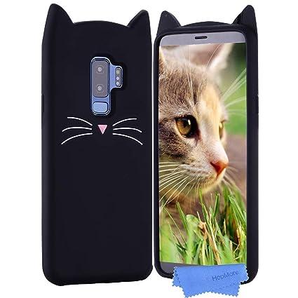 HopMore Gato Funda para Samsung Galaxy S9 Plus / S9 + ...