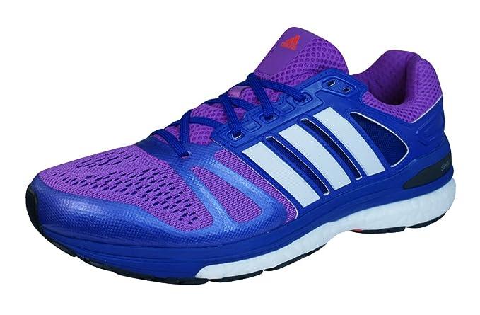 416e341b9b27f ADIDAS Supernova Sequence 7 Ladies Running Shoes Purple B44361 UK ...