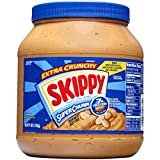 Skippy Super Chunk Peanut Butter, 64 Ounce (Pack of 2)