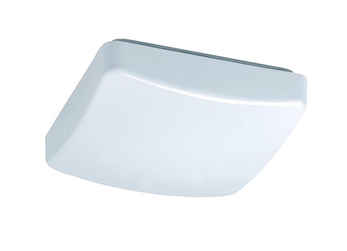 Plafoniera Led Quadrata : Reality r62531201 patz plafoniera 1xsmd 12 w led quadrato bianco