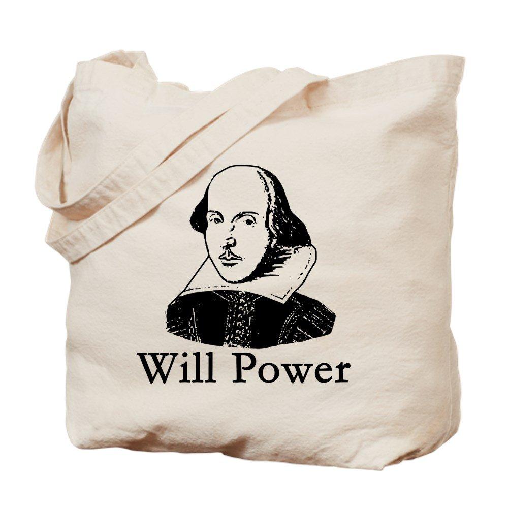 [宅送] CafePress – ウィリアムシェイクスピアWill CafePress Power – ナチュラルキャンバストートバッグ –、布ショッピングバッグ Power B06Y1XPFXL, カフカ:353b130b --- 4x4.lt