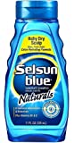 Selsun Blue Shampoo Naturals Dandruff Itchy Dry Scalp 11 Ounce (325ml) (2 Pack)