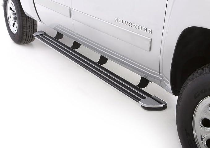 Lund 281000 Step Rails Multi-Fit 24 Black Aluminum Running Boards