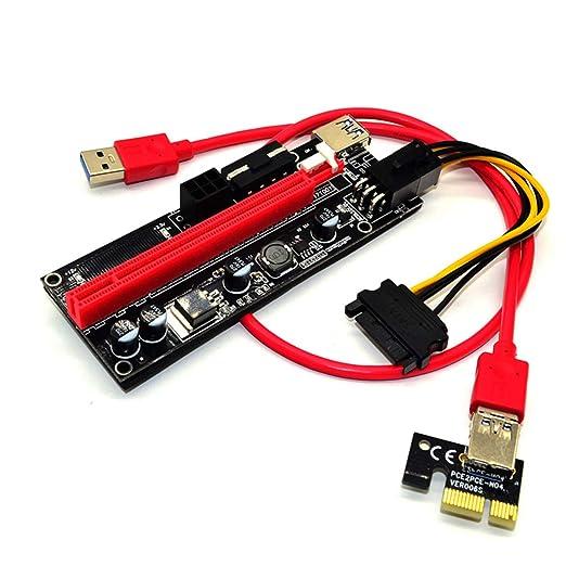 Jinxuny Tarjeta PCIe USB Express Tarjeta de expansión ...