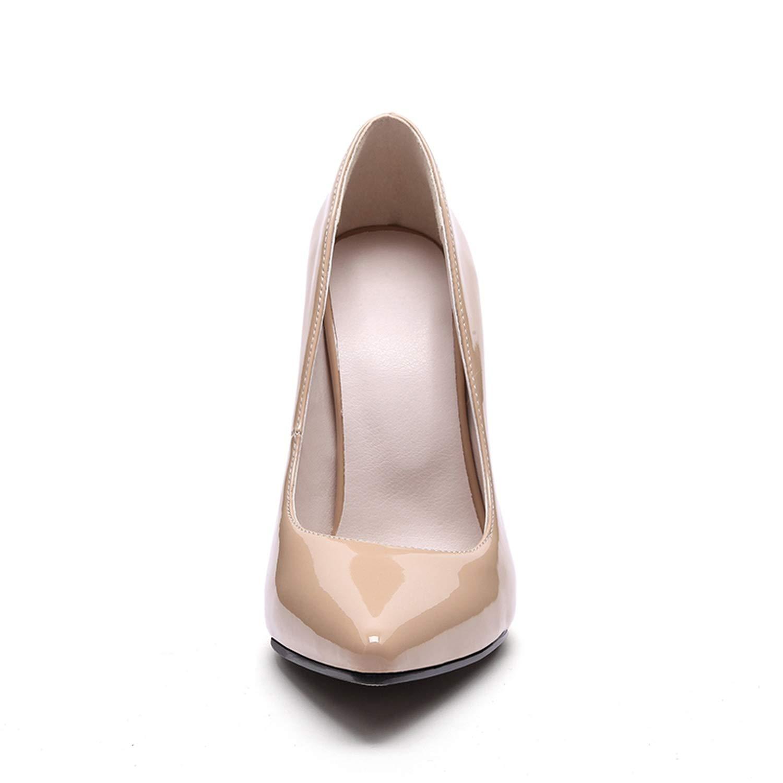 Hot Fashion High Heels Women Pumps Thin Heel Shoes Black,12